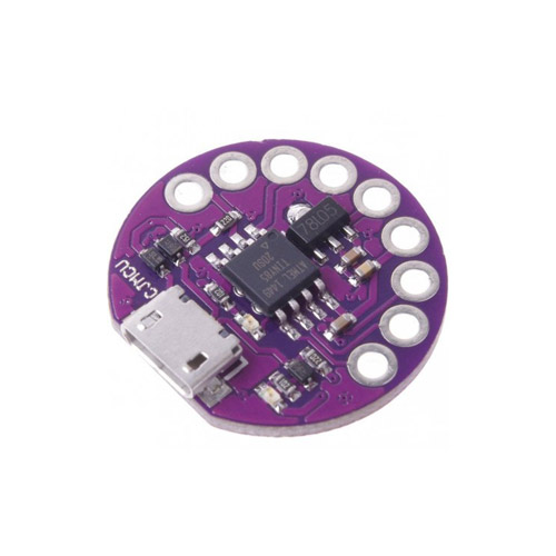 [아두이노] 아두이노 LilyTiny LilyPad ATtiny85 Development Board Professional Wearable Board ( LilyTiny LilyPad 호환 웨어러블 보드 )